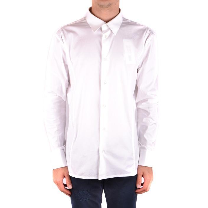Bikkembergs Men's Shirt White 163251 - white 43