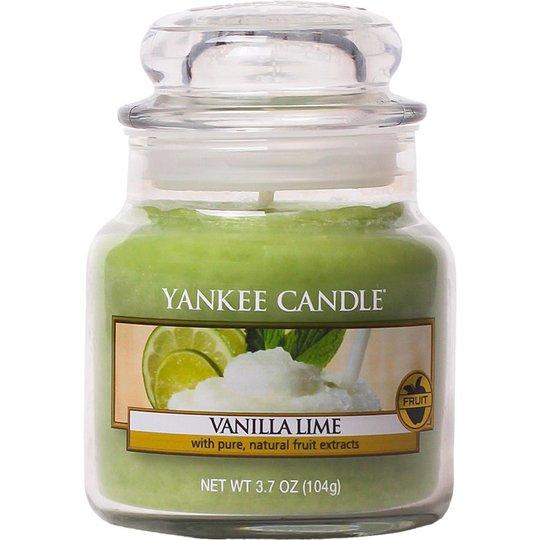 Vanilla Lime , 104 g Yankee Candle Tuoksukynttilät