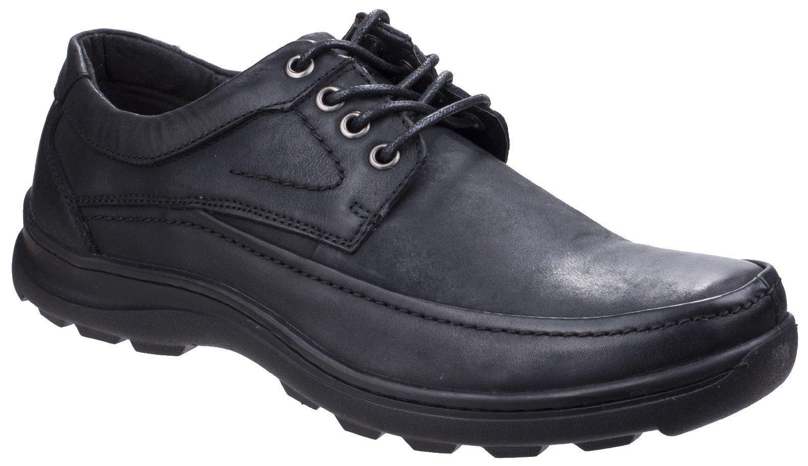 Fleet & Foster Men's Luxor Lace Up Shoe Black 26313-43921 - Black 7