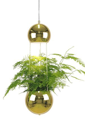 Pendel Mini Planter Messing