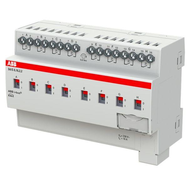 ABB 2CDG110263R0011 Tulo-/lähtöyksikkö KNX, 230 V, 16 A Kytkinliitäntöjen enimmäismäärä: 8