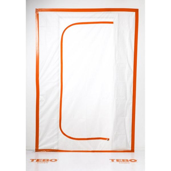 TEBO Cover 869634 Glidelåsdør pustende, C-form