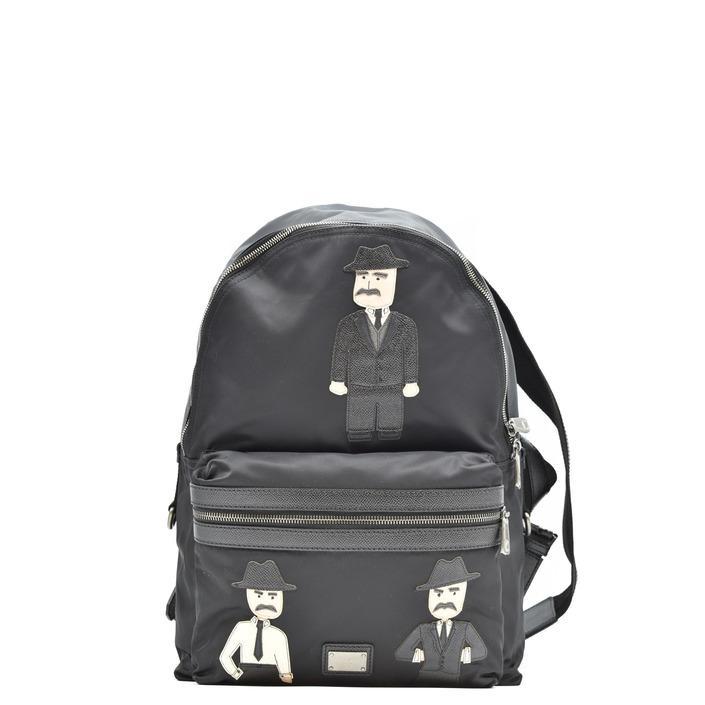 Dolce & Gabbana Men's Backpack Black 197978 - black UNICA