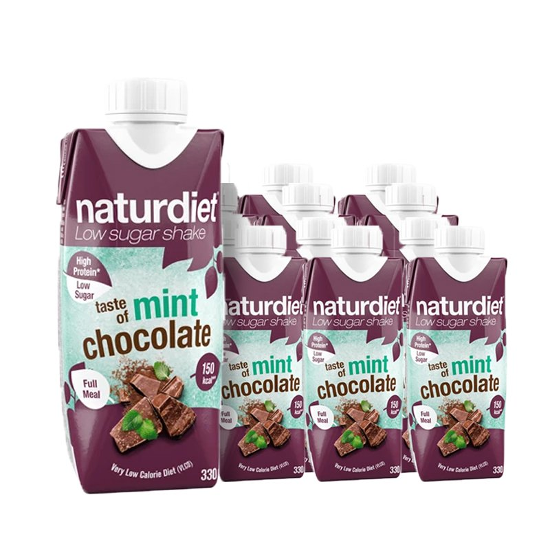 Ruokavalionkorvike Choco Mint 12kpl - 21% alennus