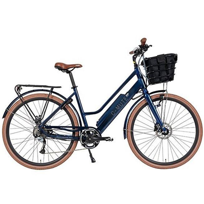 Lifebike C-Mute Uni 6/ Blå, Standardcykel el