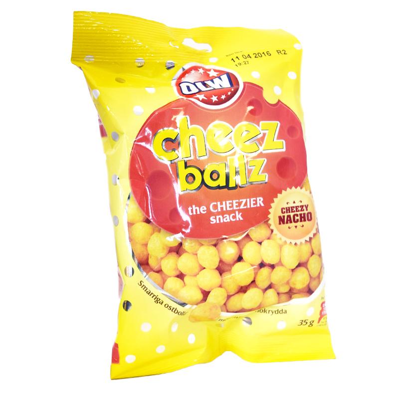 Snacks Cheez Ballz - -1333% rabatt