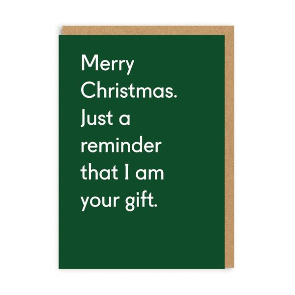 I Am Your Gift Christmas Card
