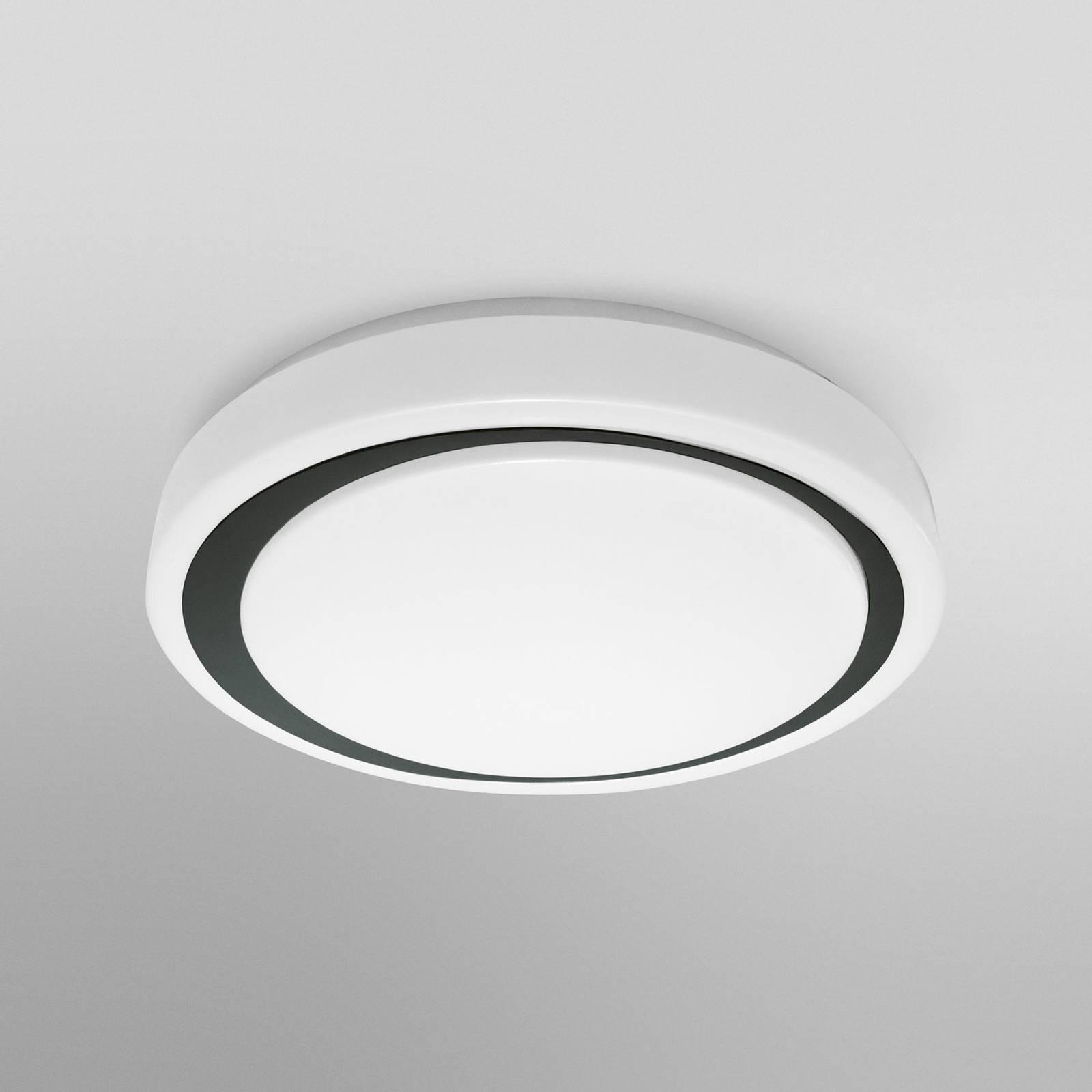 LEDVANCE SMART+ WiFi Orbis Moon CCT 38 cm musta