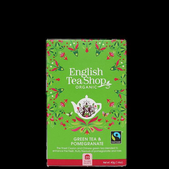 Green Tea Pomegranate, 20 tepåsar