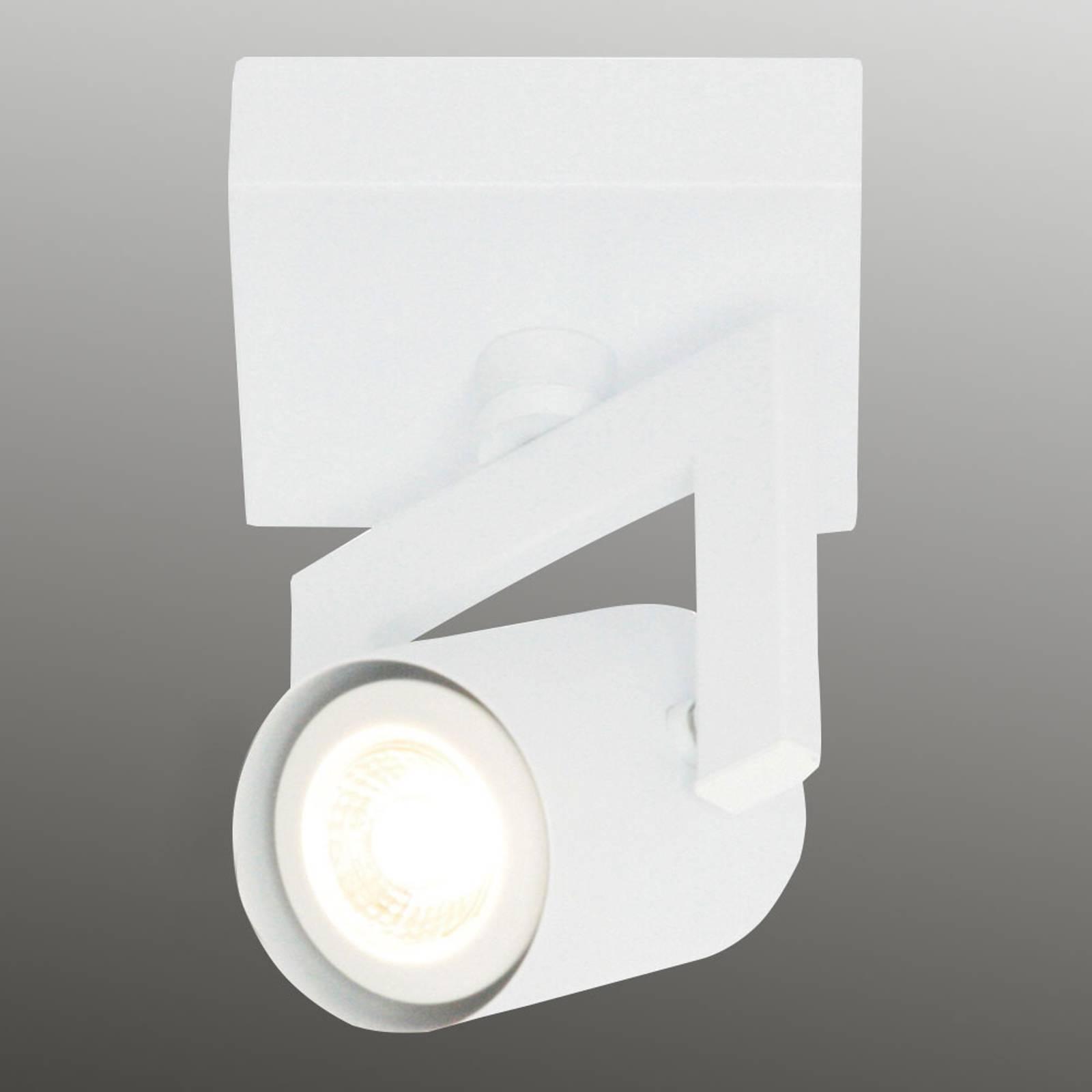 Valkoinen kattovalaisin ValvoLED 1-lamppuinen