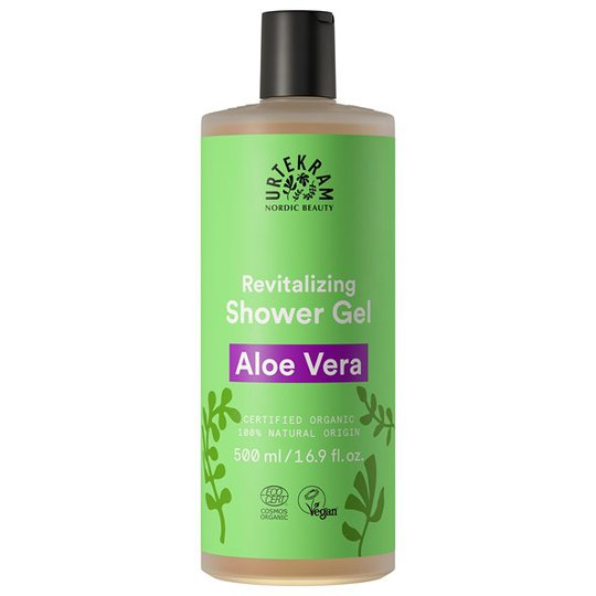 Urtekram Nordic Beauty Aloe Vera Shower Gel, 500 ml