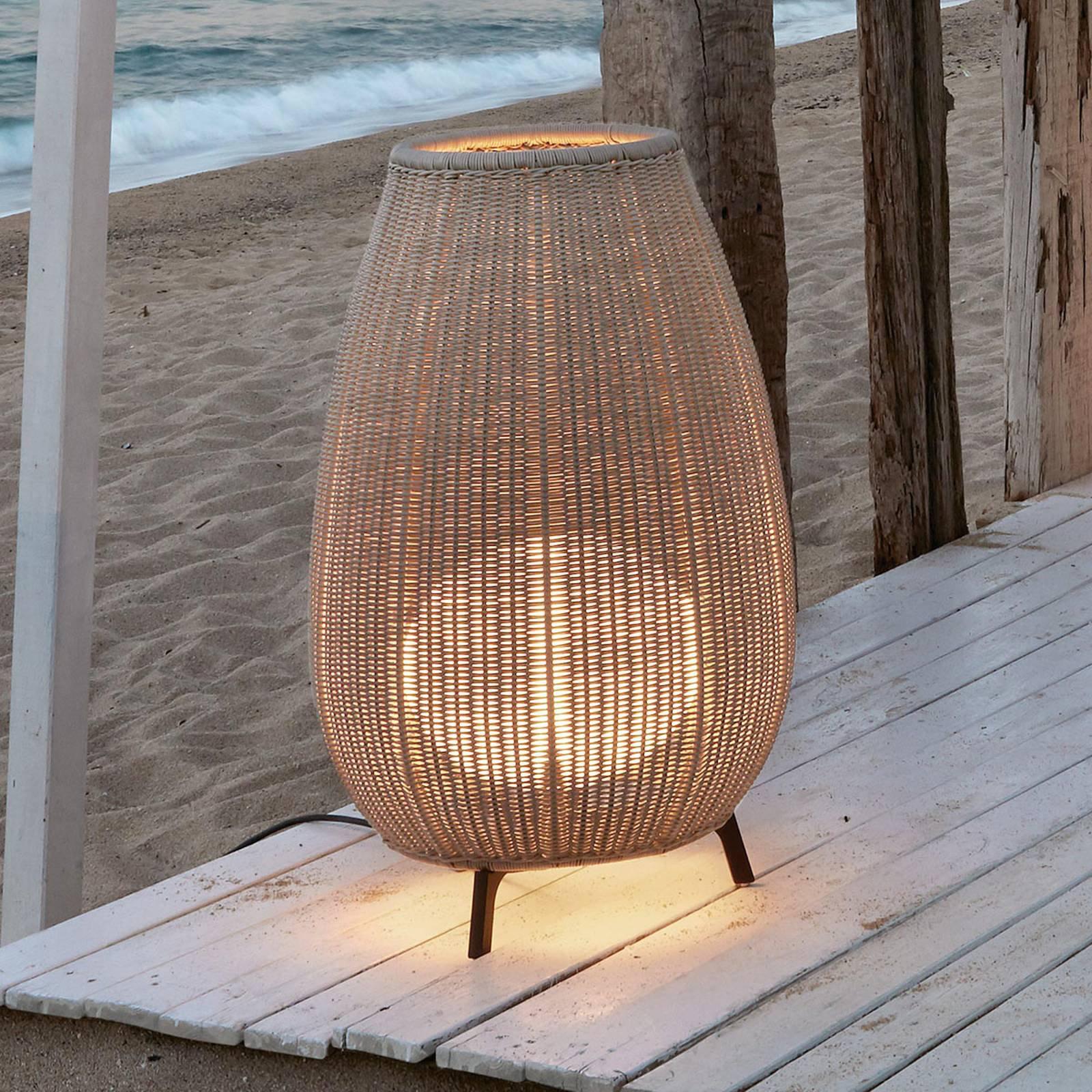 Bover Amphora 01 - terrasselampe, lys beige