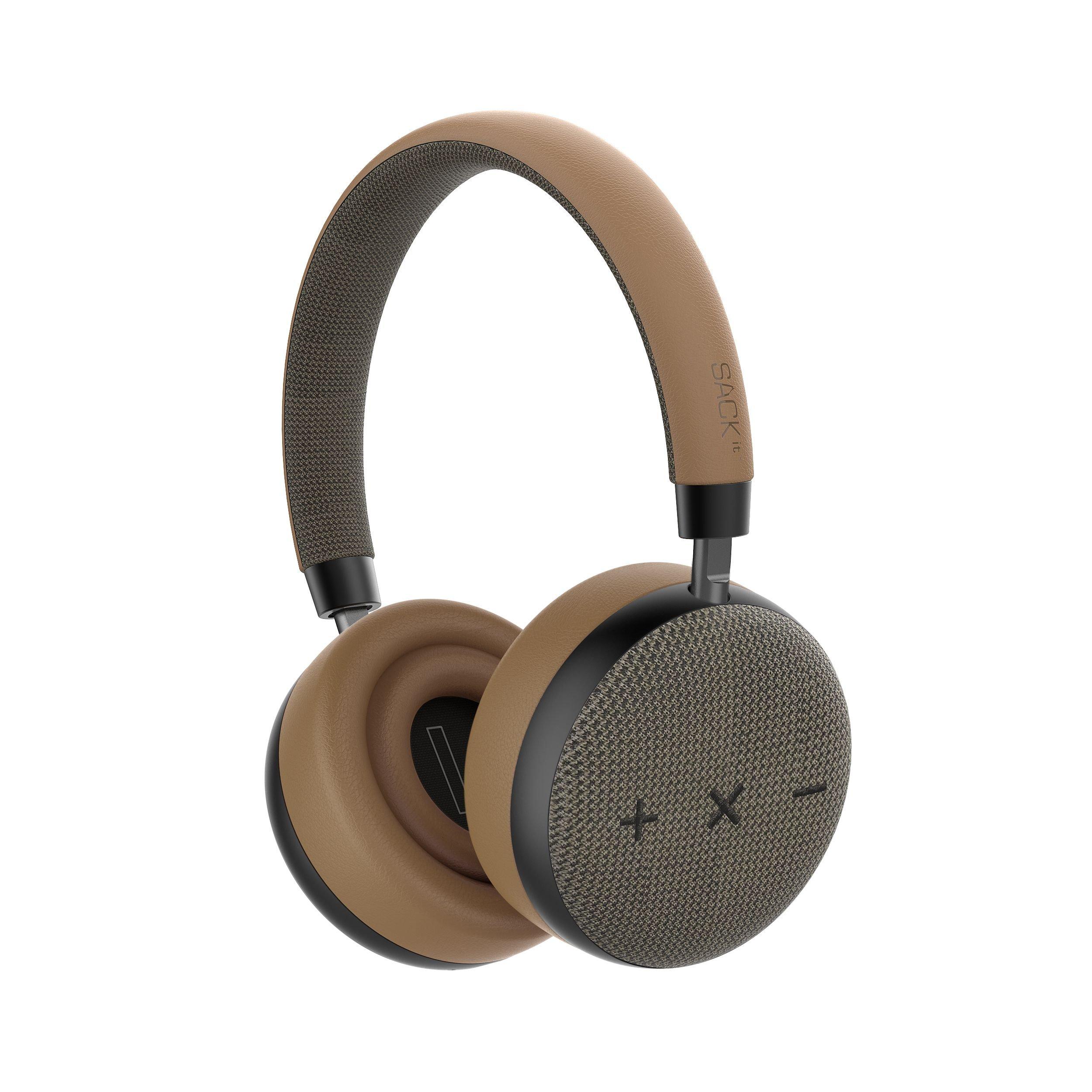 SACKit - TOUCHit S On-Ear Headphones - Golden
