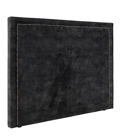 PARIS LOW 90x140 Headboard velvet dark grey