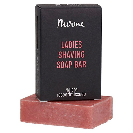 Nurme Ladies Shaving Soap Bar, 100 g