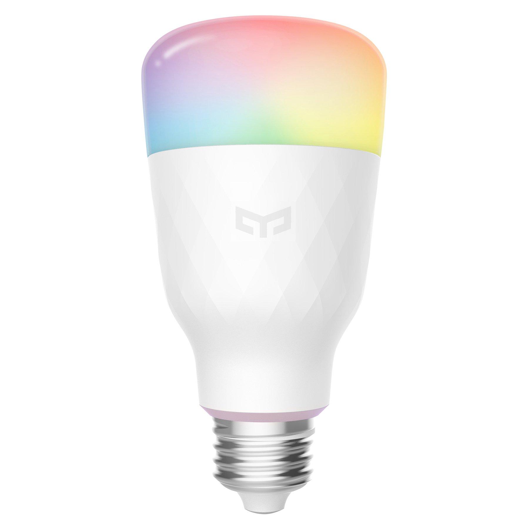 Yeelight Smart LED-pære E27 1S Color, 8,5W, dimbar