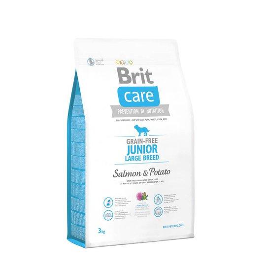 Brit Care Grain-free Junior Large Salmon & Potato (3 kg)