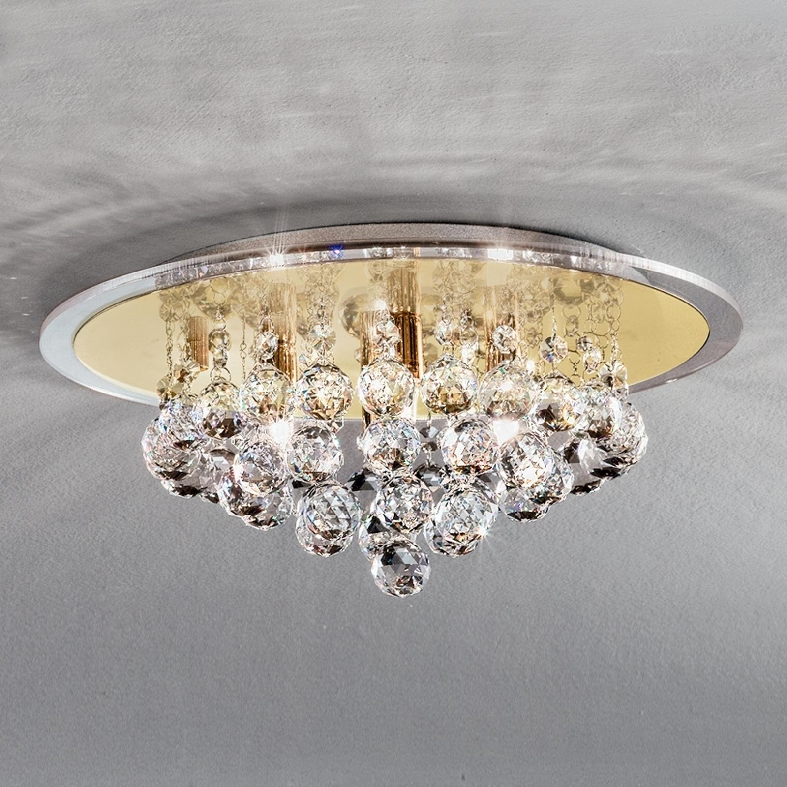 Tehokas kristalli-kattovalaisin TUILA 38 cm