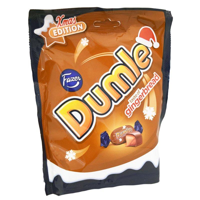 "Dumle ""Gingerbread"" 220 g - 57% alennus"
