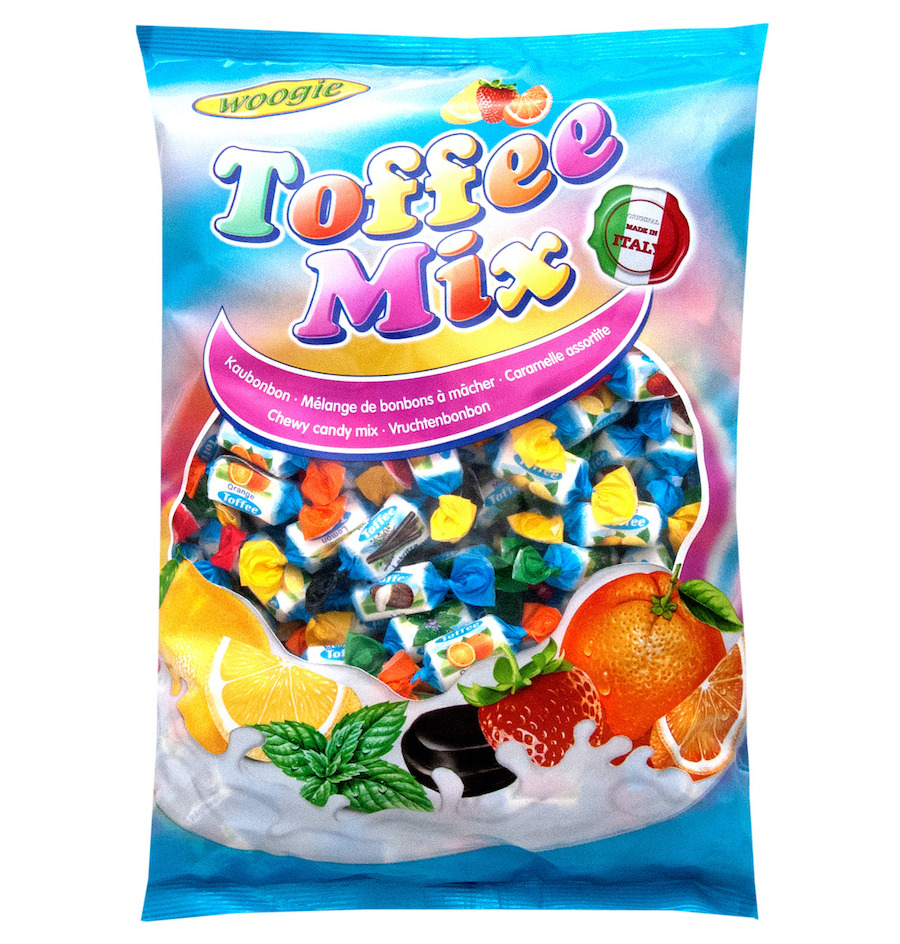Woogie Chewy toffee mix 1kg
