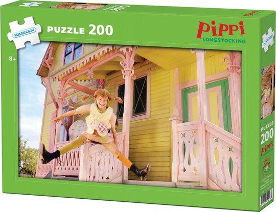 Kärnan Pippi Langstrømpe Puslespill 200 Biter