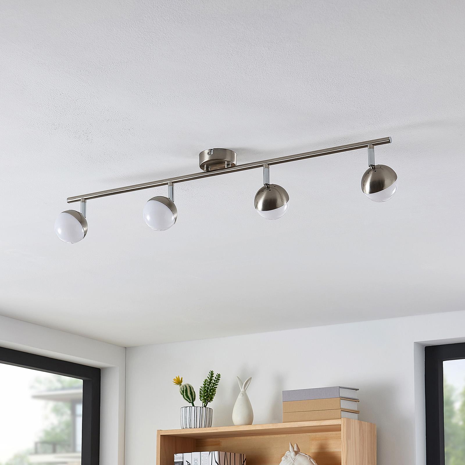 Lindby Lientje -LED-kattovalaisin, 4-lamppuinen