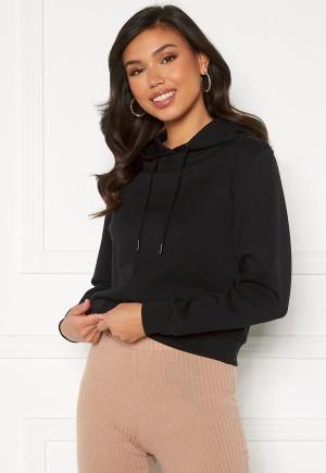 ONLY Joy L/S Hood Sweater Black M