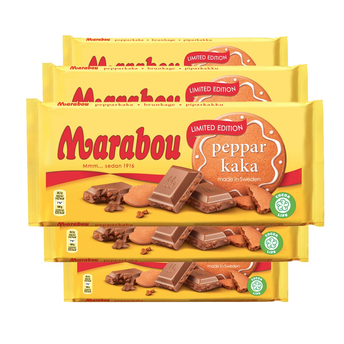 Marabou Pepparkaka 5-pack - 68% rabatt