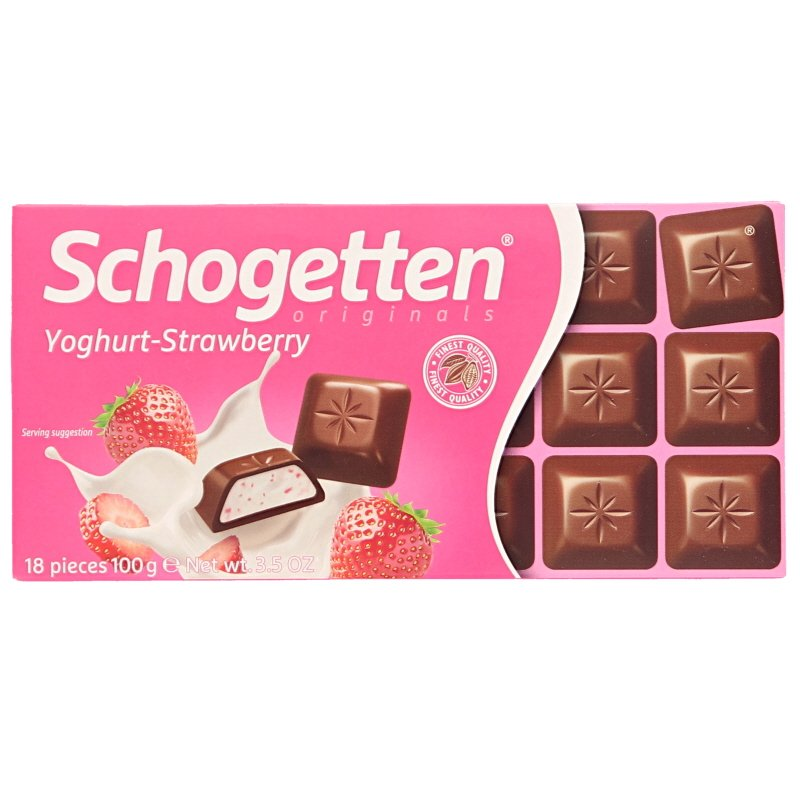 Mjölkchoklad Youghurt & jordgubbsfyllning - 11% rabatt