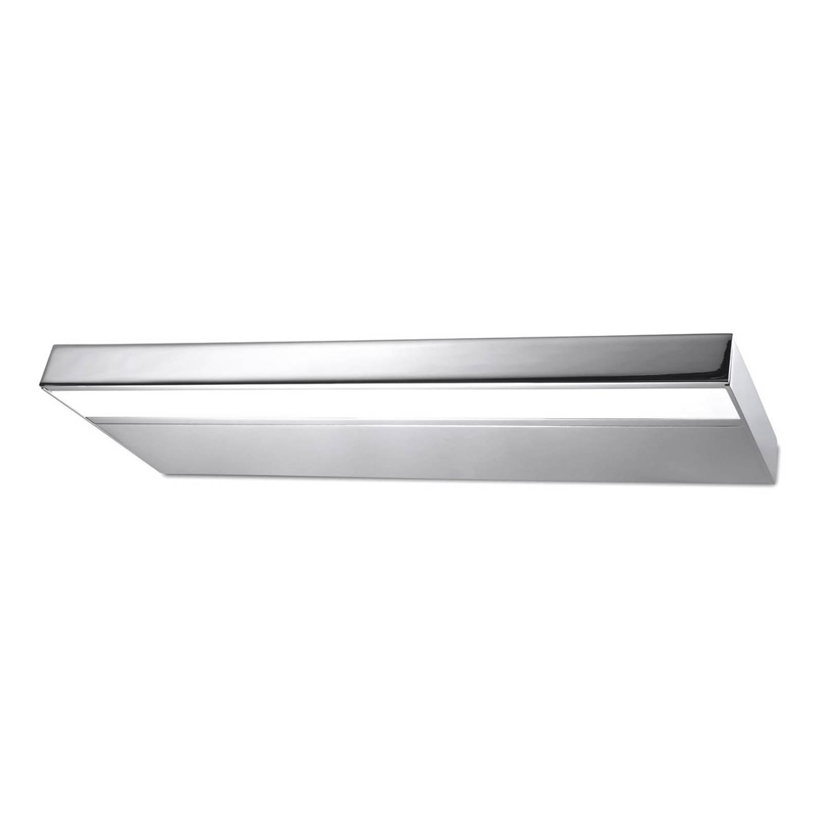 Kylpyhuoneen LED-seinälamppu Prim 60cm, kromi