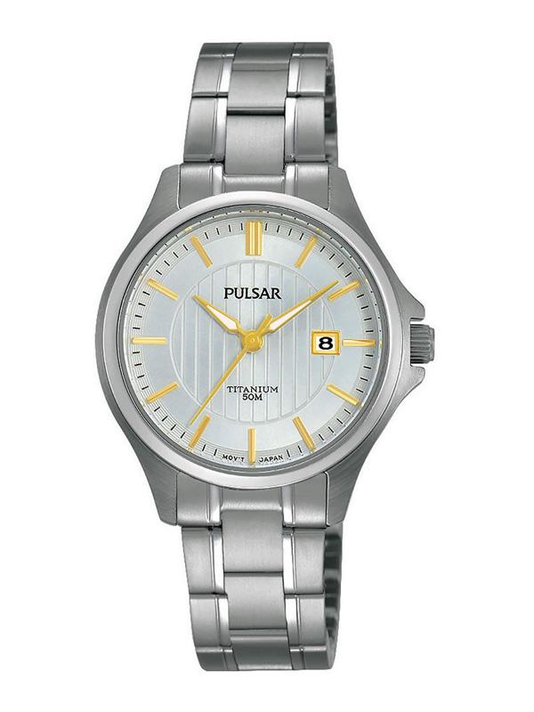 PULSAR Classic Ladies Titanium 30mm PH7435X1 - Damklocka