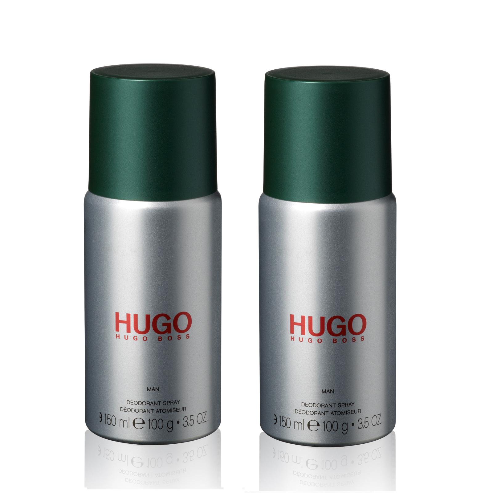 Hugo Boss - 2x Hugo Man Deodorant Spray 150 ml