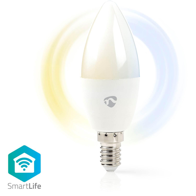 Nedis WiFi Smart LED-lampa E14