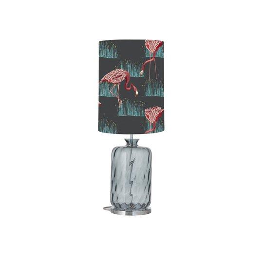 EBB & FLOW Pillar bordlampe Salinas azelea/lagoon