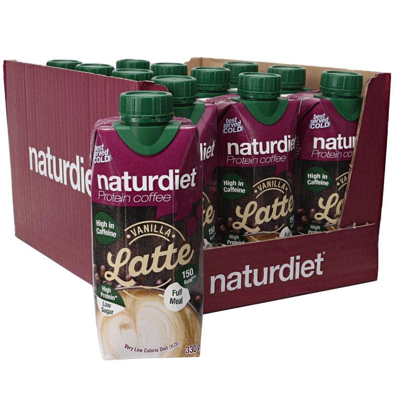 Ruokavalionkorvike Vanilja Latte 12kpl - 21% alennus
