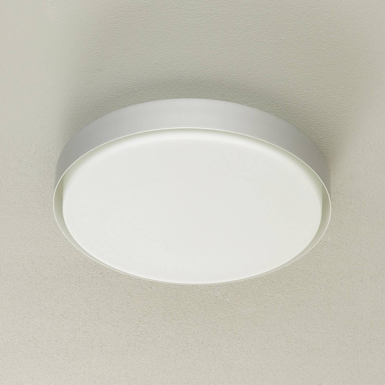 BEGA 34279 LED-taklampe, alu, Ø 42 cm, DALI