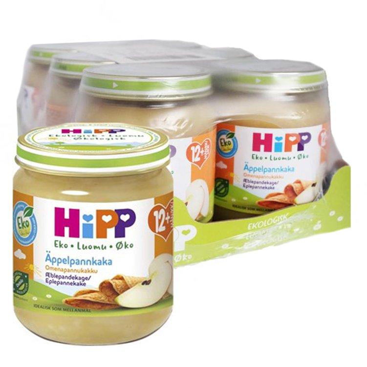 Laatikollinen Luomu Lastenruokaa Omenapannukakku 6 x 200 g - 56% alennus