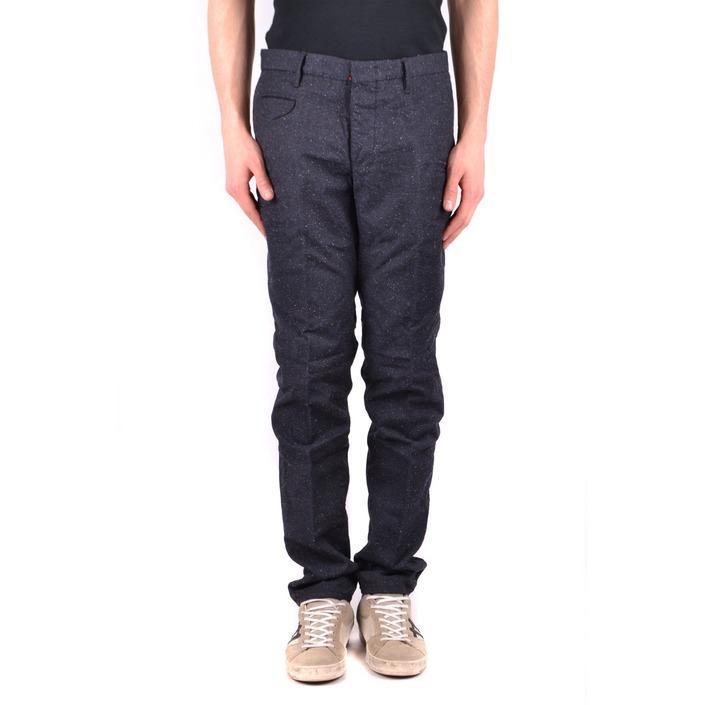 Incotex Men's Trouser Blue 162094 - blue 35