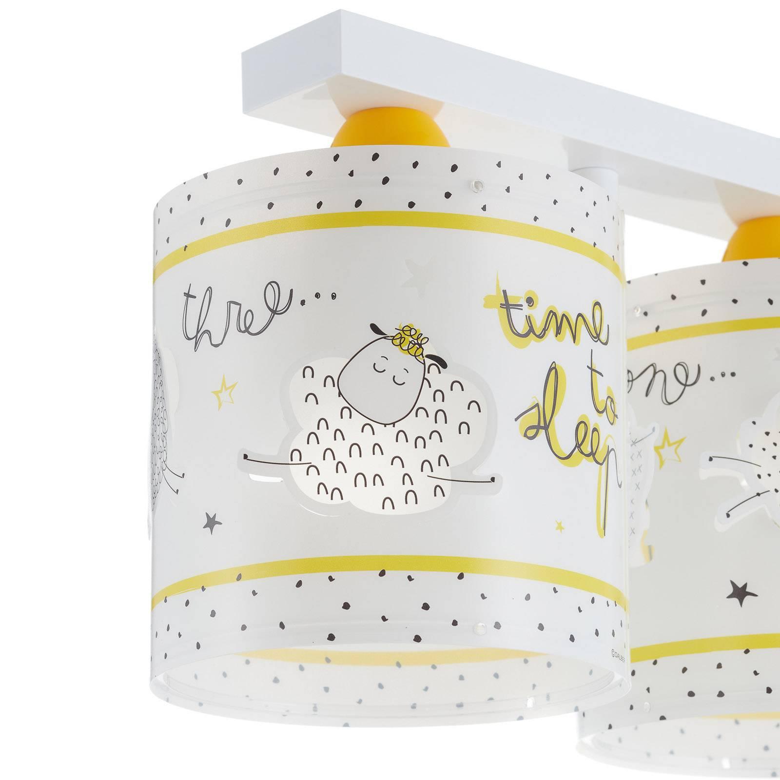 Barne-taklampe Time to sleep, 3 lyskilder