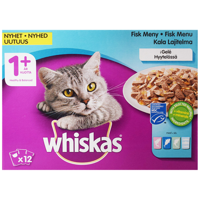 Kissanruoka Kalalajitelma Hyytelössä - 24% alennus
