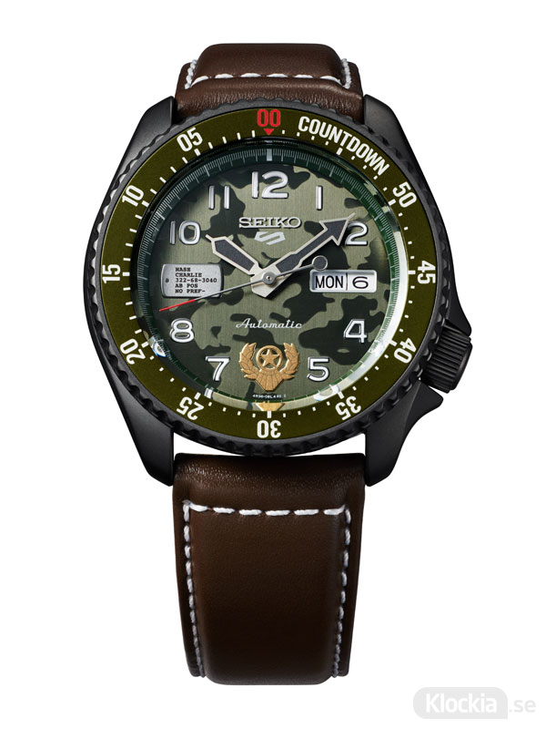 SEIKO 5 Sports 42.5mm Automatic Street Fighter V - GUILE SRPF21K1