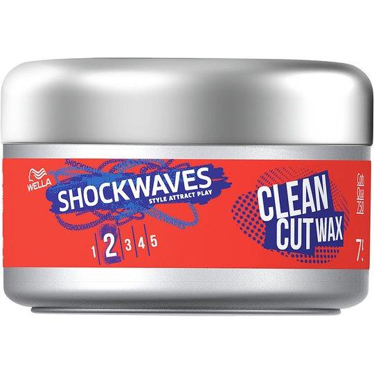 Wella Shockwaves Styl Clean Cut Wax, 75 ml Wella Styling Muotoilutuotteet