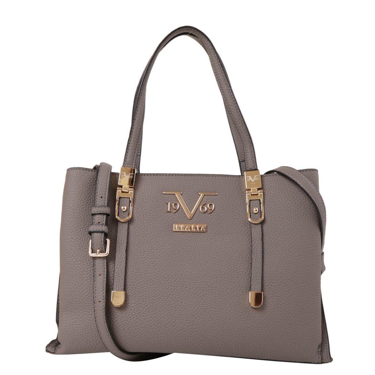 19v69 Italia Women's Handbag Various Colours 318969 - grey UNICA