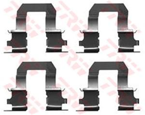 Tarvikesarja, jarrupala, Taka-akseli, TOYOTA COROLLA, COROLLA Compact, COROLLA Liftback, 04412-55000, 441255000