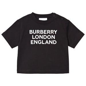 Burberry Logo Baby T-shirt Svart 6 months