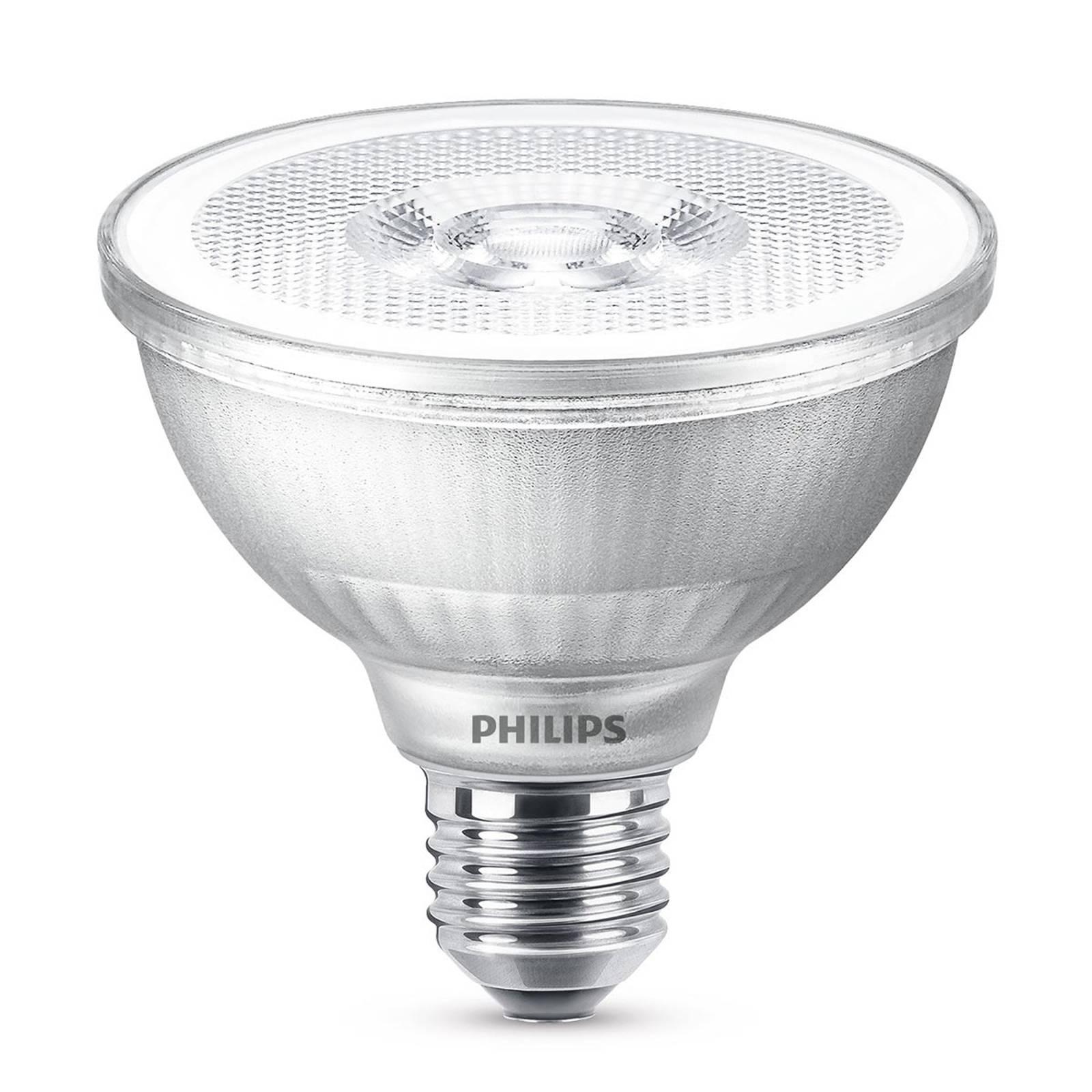 LED-heijastinlamppu PAR30S E27 9,5W l. valk. himm.