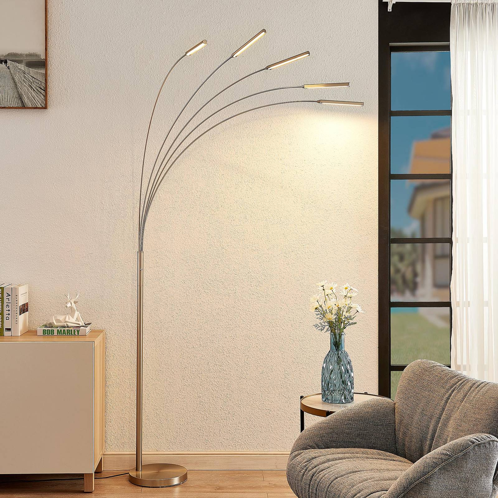 Lindby Feska -LED-lattiavalaisin
