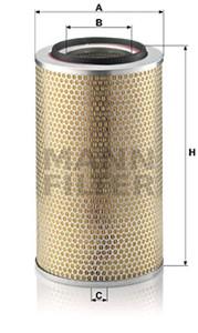 Ilmansuodatin, MERCEDES-BENZ T2/LN1 Skåp, T2/LN1 Tipp, 001 094 47 04, 004 094 09 04, A 001 094 47 04, A 004 094 09 04