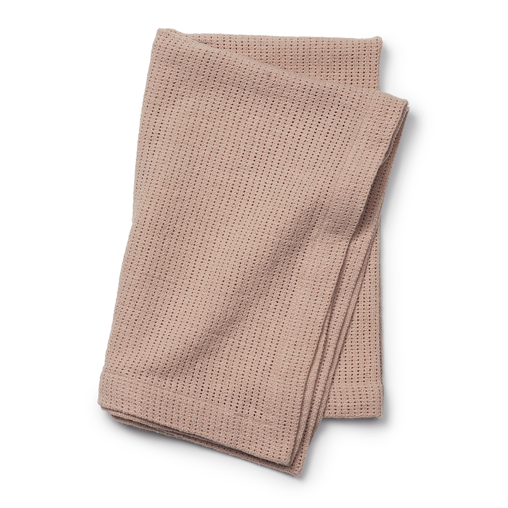 Cellular Blanket - Powder Pink