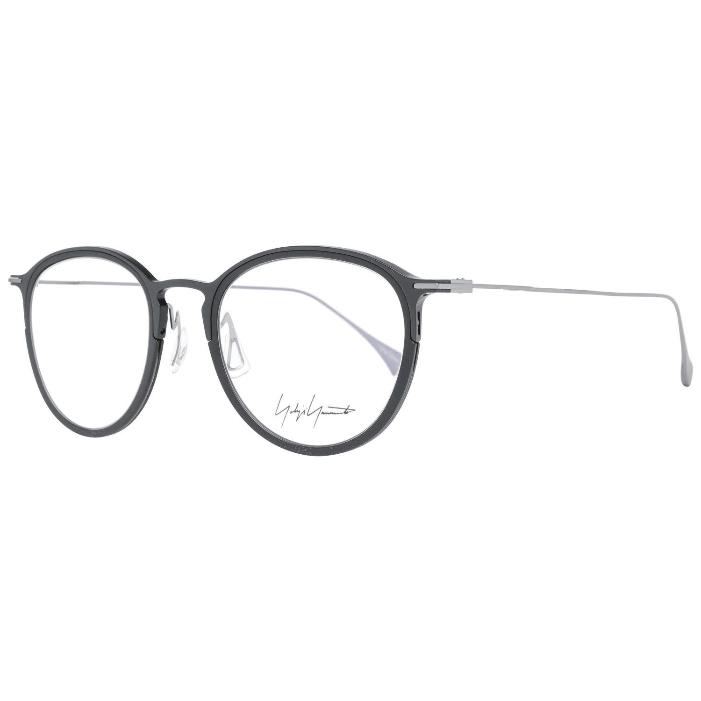 Yohji Yamamoto Men's Optical Frames Eyewear Black YY1042 49002
